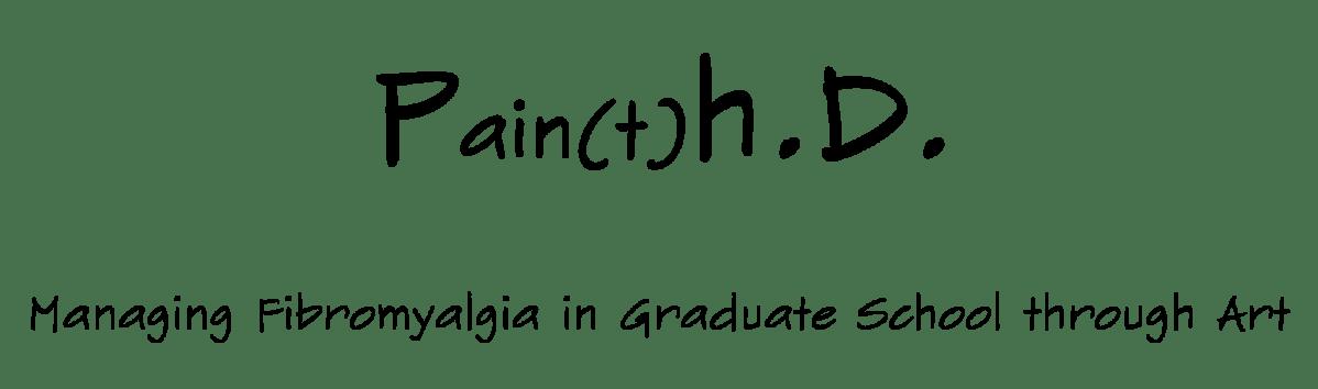 Pain(t)h.D. Logo