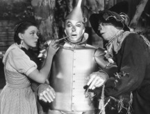 Judy Garland, Jack Haley, Ray BolgerFilm Set Wizard Of Oz, The (1939) 0032138